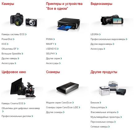 Выбор типа устройства