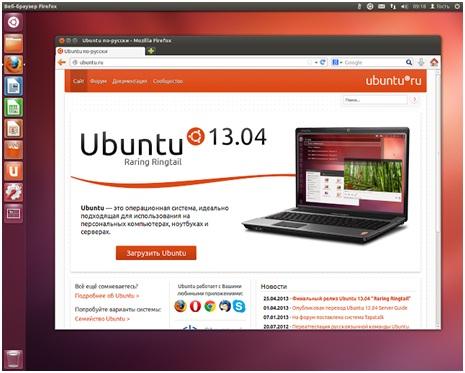 Операционная система Ubuntu