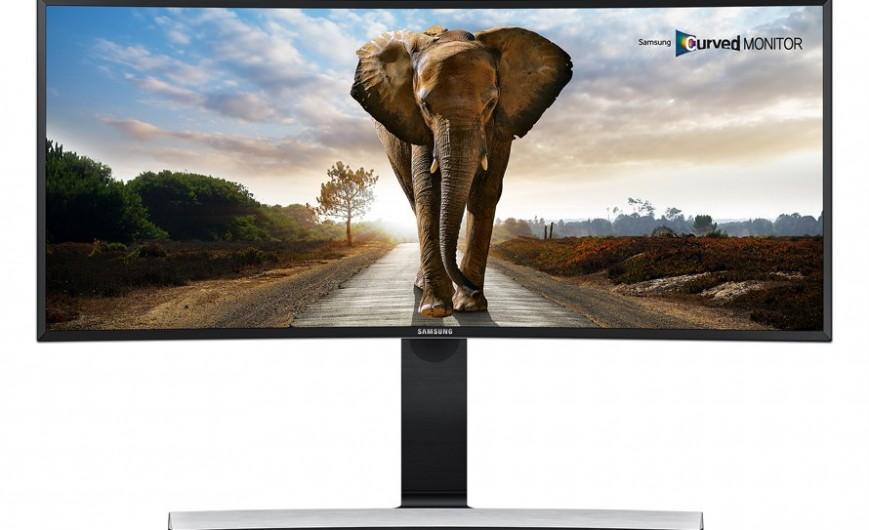 Монитор Samsung SE790C Ultra HD. Вид 1