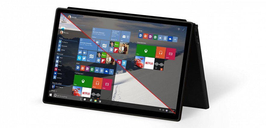Windows 10 Technical Preview на планшете