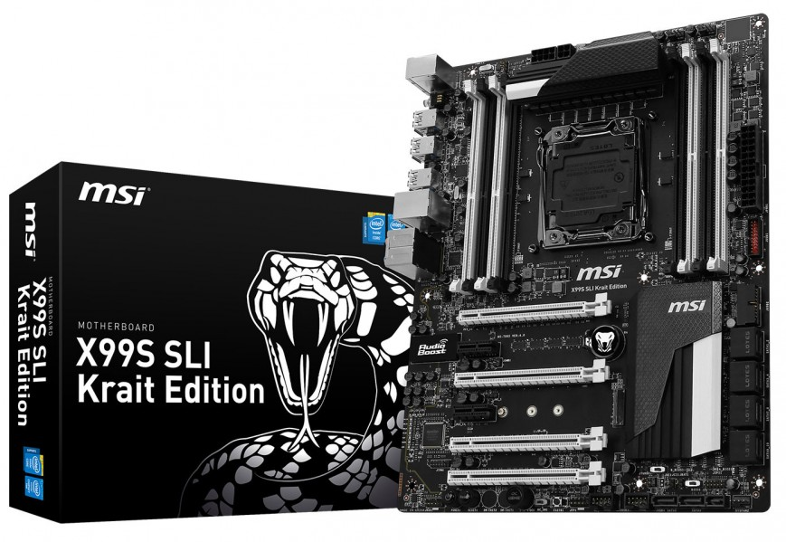 MSI X99S SLI Krait Edition (вид 1)